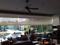 motorised roller blinds d one curtain singapore