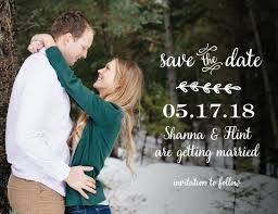 Rustic Save The Date Magnets Save The Date Magnets Match Your Colors U0026 Style Free Basic Invite