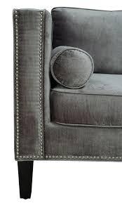 Sofa Wholesale Cooper Grey Velvet Sofa Wholesale Living Angeles Ver Cositas