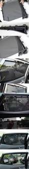 rear seat curtain blind sun shade assembly for hyundai santa fe