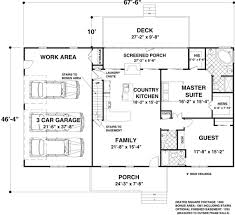 house plan for 1500 sq ft land