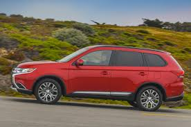 mitsubishi red 2016 mitsubishi outlander reviews and rating motor trend