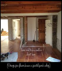 holiday decorating and house renovation begin