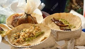 insecte cuisine tacos d insectes et de tacos frits de la cuisine mexicaine tacos de