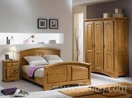 chambre en chene massif chambre a coucher chene massif meilleur idées de conception de