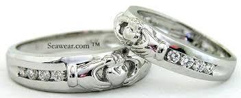 claddagh wedding ring set claddagh engagement and wedding ring sets claddagh ring wedding