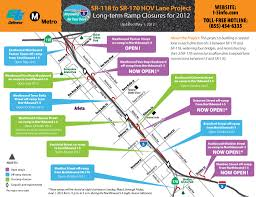 210 Freeway Map I 5 Off Ramps To Sheldon St Osborne St And Van Nuys St And On