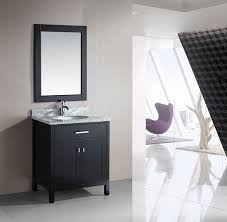 Single Bathroom Vanity Set Design Element London Single 30 Inch Modern Bathroom Vanity Set