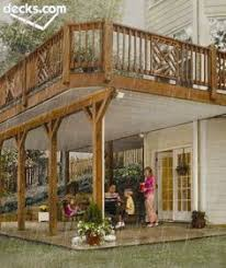 Rasmussen Pool And Patio Second Story Deck On Pinterest Two Story Deck Patio Under Decks