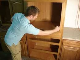 how to install a wall oven in a base cabinet www rtacabinetstore com double oven instructions youtube