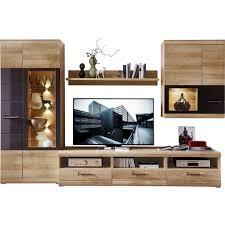Wohnzimmerschrank Ohne Glas Wohnwand Nussbaum Grau Preisvergleich U2022 Die Besten Angebote Online
