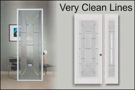 Window Inserts For Exterior Doors Modern Glass Door Inserts For Front Entry Doors