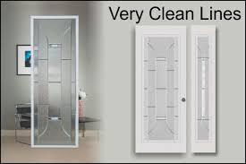 Exterior Door Inserts Modern Glass Door Inserts For Front Entry Doors