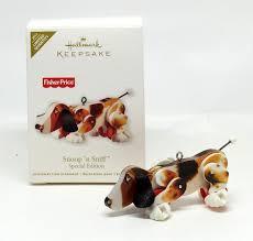 hallmark christmas ornament fisher price snoop n sniff dog 2011