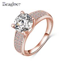 aliexpress buy beagloer new arrival ring gold beagloer 2016 new arrival simple style finger ring gold silver
