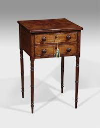 side table 2 drawers antique work table small side table 2 drawer side table tripod
