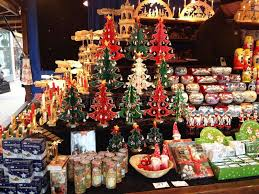 decorations sale christmas decorations on sale in a market editorial stock photo