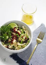 Salad Main Dish - clean eating chicken and quinoa salad