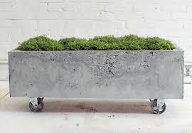 How To Make Planters by How To Make A Concrete Planter Bob Vila