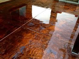 flooring epoxy metallic copper floor pearl silver