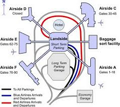 Los Angeles Airport Map by Airport Terminal Map Tampa Airport Terminal Map Jpg