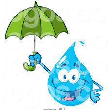 Clip Umbrella Royalty Free Clip Art Vector Logo Of A Water Drop Holding An