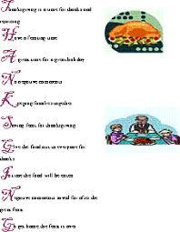thanksgiving acrostic poems november writing ideas
