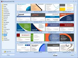 card software business cards businesscards mx software for designing business card