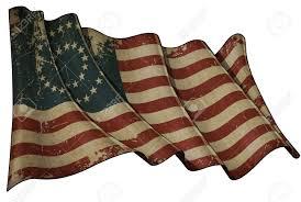 Civil War Union Flags Illustration Of An Aged Waving American Civil War Union North