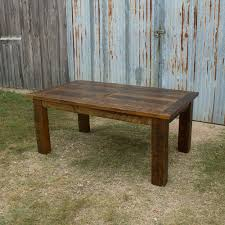 Barn Wood Sofa Table by Barnwood Beam Leg Barn Door Table