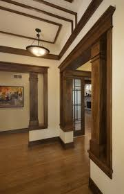 trim and columns stained adds time and history like make up to