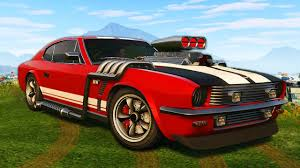New Muscle Cars - crazy new muscle car grand theft auto 5 new gta 5 dlc youtube