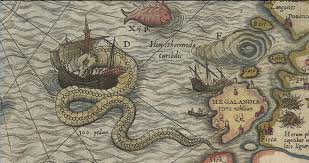Medieval Maps Sea Monster Map Here Be Dragons The Evolution Of Sea Monsters On