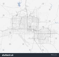 Az City Map Map Phoenix City Arizona Roads Stock Vector 541206481 Shutterstock
