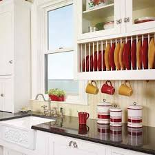 Ways To Spruce Up Tired Kitchen Cabinets Plate Racks Dishes - Spruce up kitchen cabinets