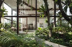 gridded glazing frames garden views from nitaprow u0027s organic beauty
