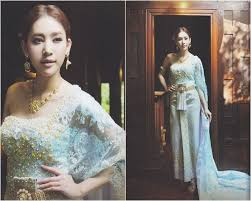 Thai Wedding Dress 97 Best Thai Traditional Fashion Images On Pinterest Thai Dress