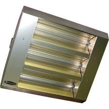 infra red patio heaters tpi thss series mul t mount indoor outdoor quartz infrared heater