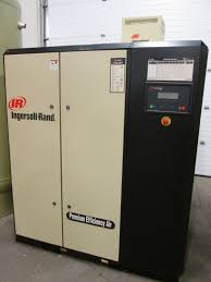 2004 ingersoll rand ir 60hp rotary air compressor model