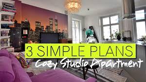cool studio apartment decorating ideas youtube