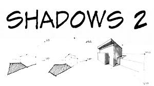 how to draw perspective shadow part 2 architecture daily sketches