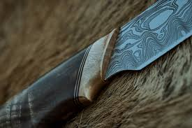 northmen guild the blade for this knife contains 320 layer hand forged damascus pattern welded steel the knife blade is made from two different steel types 1095 and