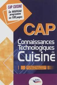 livre technique cuisine professionnel livres de cuisine professionnelle cap cuisine et bts cookée