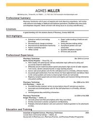 Example Of Pharmacy Technician Resume Compounding Pharmacy Technician Cover Letter