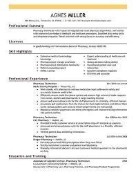 Cvs Pharmacy Resume Pharmacy Technician Resume Examples Resume Example And Free