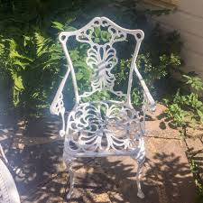 Cast Aluminium Garden Table And Chairs Cast Aluminium Garden Table And 4 Carver Chairs In Pinner
