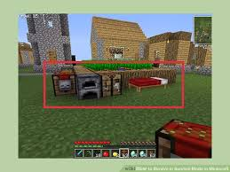 How To Make A Table In Minecraft How To Survive In Survival Mode In Minecraft With Pictures