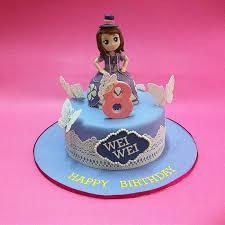 sofia cakes disney princess sofia the fondant cakes jb kl penang