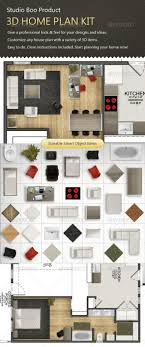 plan your house 3d home plan kit by x mail graphicriver