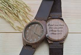 engraved anniversary gifts walnut anniversary gift for him wl4411 woodchronos